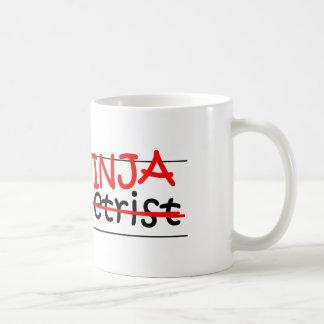 Caneca De Café Posição Ninja - optometrista