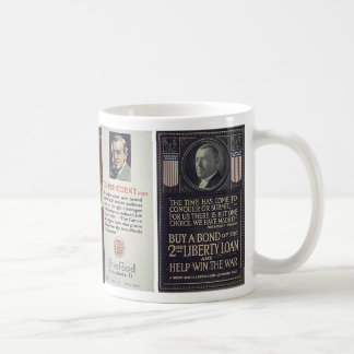 Caneca De Café Poster da Primeira Guerra Mundial dos Estados