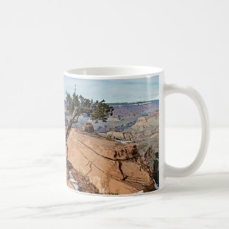Caneca De Café Poster sul da fuga de Kaibab do Grand Canyon