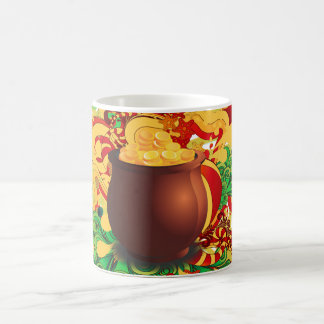Caneca De Café pote de ouro