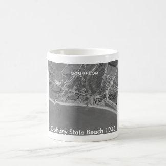 Caneca De Café Praia de estado 1946 de Doheny