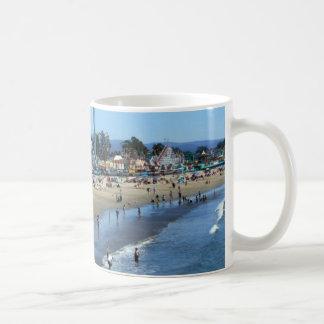 Caneca De Café Praia/passeio à beira mar de Santa Cruz