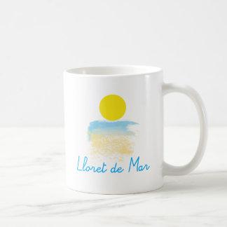 Caneca De Café Praia & sol de Lloret de Mar