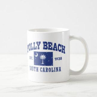 Caneca De Café Praia South Carolina do insensatez