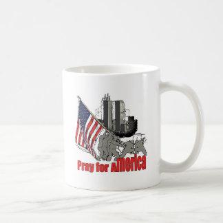 Caneca De Café Pray para América