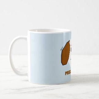 Caneca de café preciosa do filhote de cachorro
