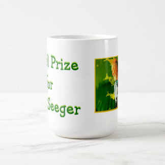 Caneca De Café Prémio nobel para o copo de Pete Seeger