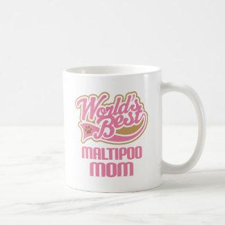 Caneca De Café Presente da raça do cão da mamã de Maltipoo