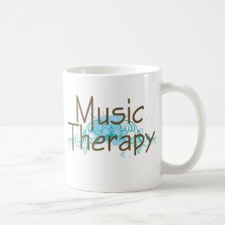 Caneca De Café Presente da terapia de música