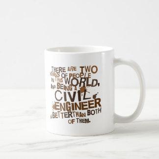 Caneca De Café Presente do engenheiro civil