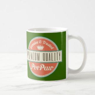 Caneca De Café Presente (engraçado) de Peepaw