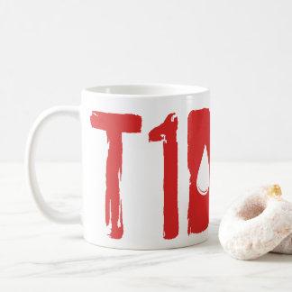 Caneca De Café Presente engraçado para o diabético - sangue T1D