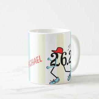 Caneca De Café Presente engraçado PERSONALIZADO do © da maratona
