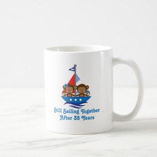 Caneca De Café Presente para a 38th buzina do aniversário de
