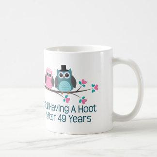 Caneca De Café Presente para a 49th buzina do aniversário de