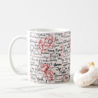 Caneca De Café Presente quente inspirado do cacau do chá da