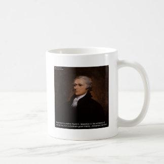 Caneca De Café Presentes de Alexander Hamilton