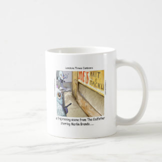 Caneca De Café Presentes engraçados da máfia dos peixes de