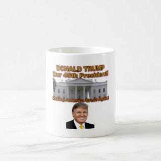 Caneca de café presidencial de Donald Trump