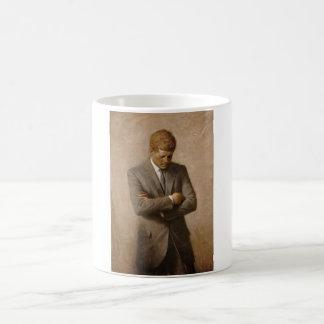 Caneca De Café Presidente John Kennedy - retrato oficial