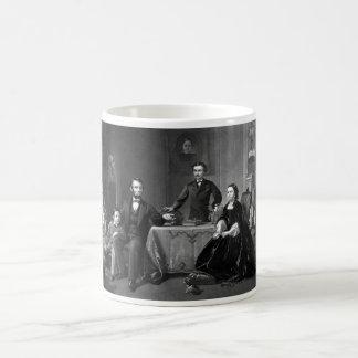 Caneca De Café Presidente Lincoln e sua família