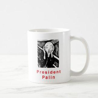 Caneca De Café Presidente Palin