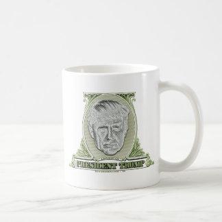 Caneca De Café Presidente Trunfo Dólar