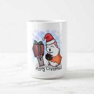 Caneca De Café Presunto e Natal leitão