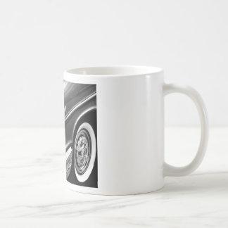 Caneca De Café Preto 1957 & branco do Bel Air de Chevrolet