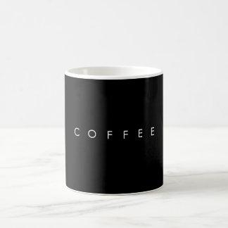Caneca de café preto clássica