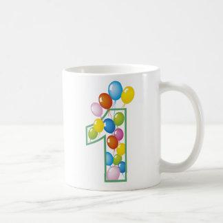 Caneca De Café Primeiro aniversário