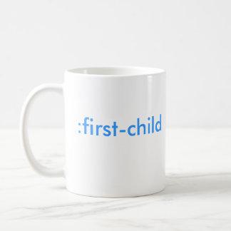 Caneca De Café : primeiro-criança (é um menino!)