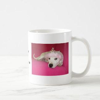 Caneca De Café Princesa Cão Lucy