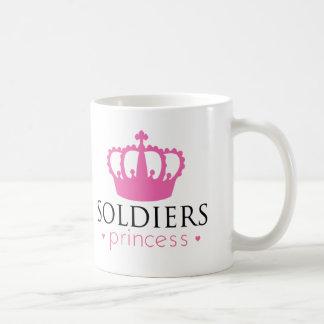 Caneca De Café Princesa dos soldados