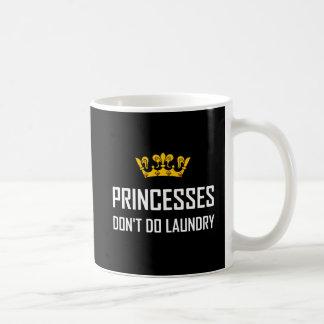 Caneca De Café Princesas Fazer Não Fazer Lavanderia