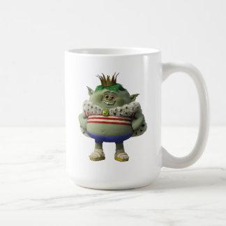 Caneca De Café Príncipe Gristle dos troll |