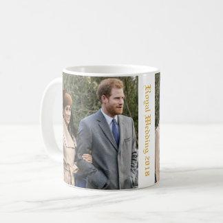 Caneca De Café Príncipe Harry e casamento real 2018 de Meghan