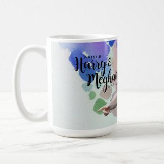 Caneca De Café Príncipe Harry & Meghan Markle