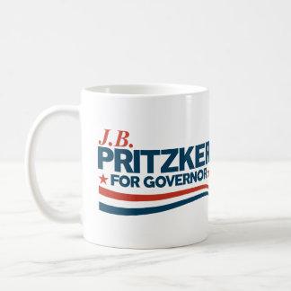 Caneca De Café PRITZKER - JB Pritzker para o governador