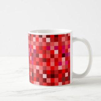 Caneca De Café Prixel vermelhas