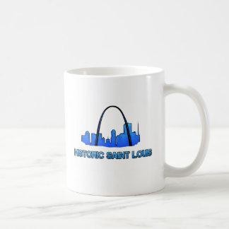 Caneca De Café Produto histórico do logotipo do Saint Louis
