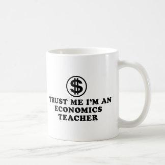 Caneca De Café Professor da economia