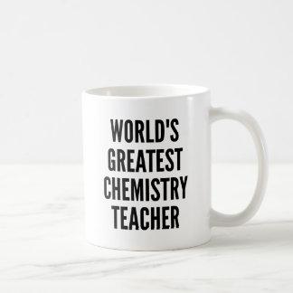 Caneca De Café Professor da química dos mundos o grande