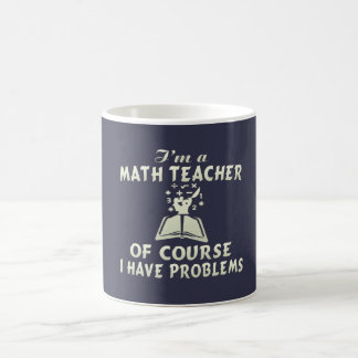 Caneca De Café Professor de matemática