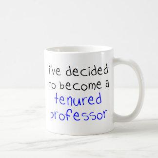 Caneca De Café professor tenured