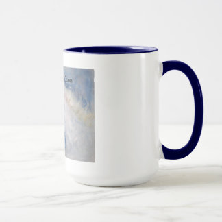 Caneca de café profética da arte