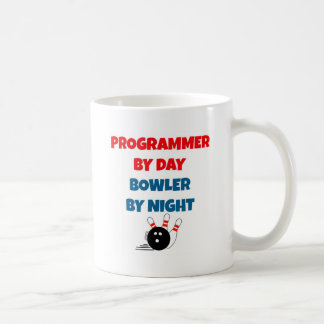 Caneca De Café Programador pelo jogador do dia em a noite