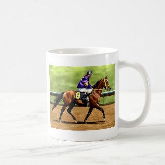 Caneca De Café Pronto para ser executado - pintura do cavalo de