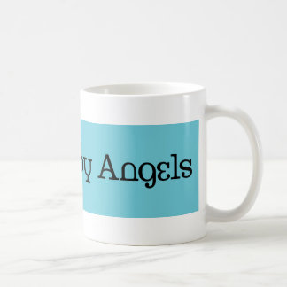 Caneca De Café Protegido pelos anjos #3