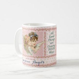 Caneca De Café Protegido por anjo-da-guarda